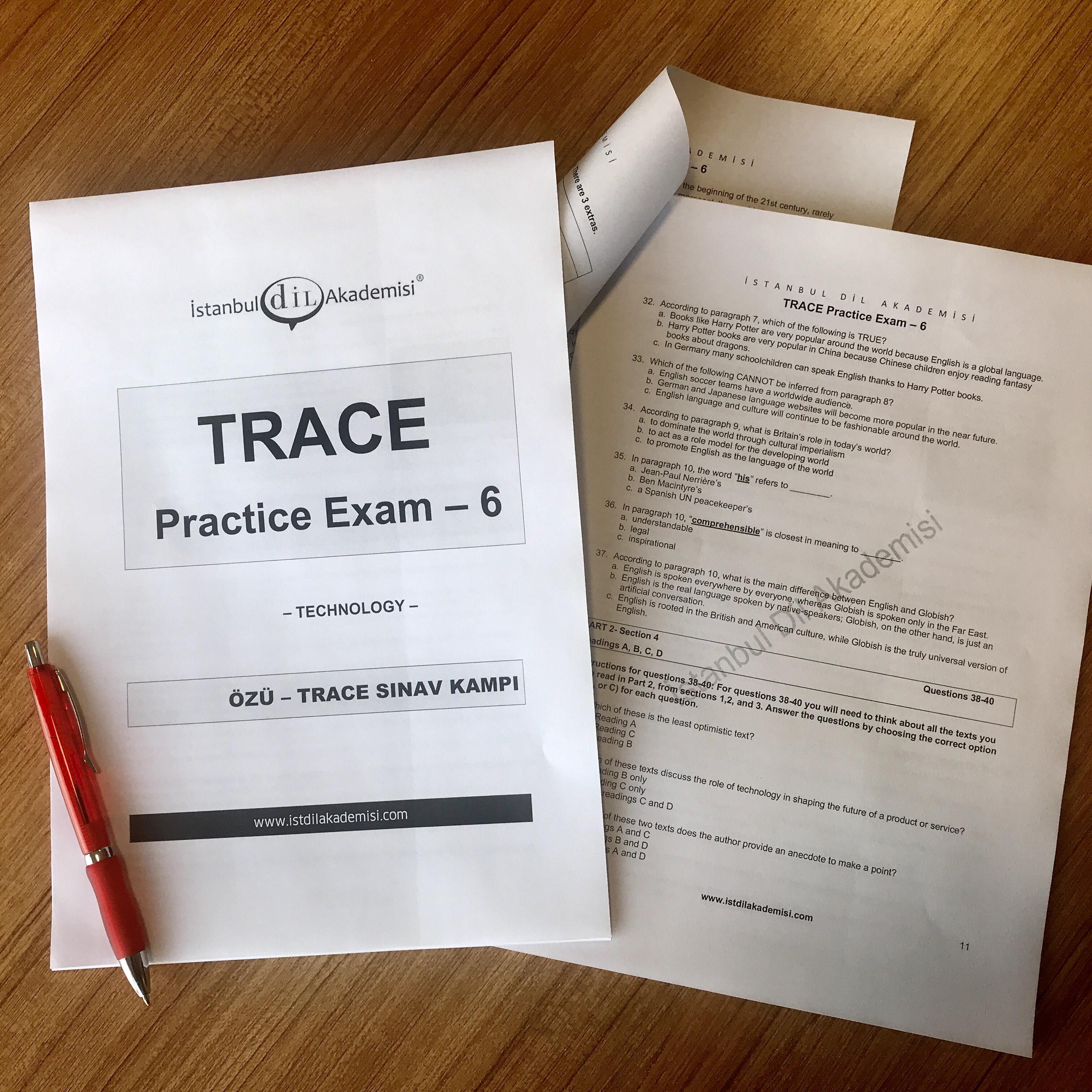 TRACE Deneme Sınavları